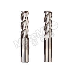 耐高酷乐 三刃圆鼻R角标准长整体硬质合金铝用铣刀 A345 120 D 30 075 R100 刃数:3 柄径:12mm  支