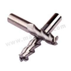 耐高酷乐 三刃平刀尖角整体硬质合金铝用铣刀 A345 060 D  30 075 S 刃数:3 柄径:6mm 材质编码:硬质合金 有效刃长:18mm  支