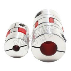 开天 NC15-DK型膜片式联轴器 NC15-DK-19-19 最高转速:16000RPM 外径:47mm 额定扭矩:20N·m 内径:19~19mm  个