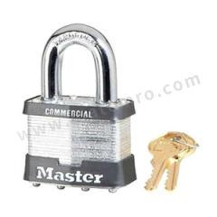 玛斯特锁 4弹子钢千层锁 5KAMCN 钥匙系统:同花  把