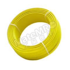 起帆 铜芯聚氯乙烯绝缘布电线 BV-450/750V-1×6 线芯数:1 颜色:黄色  卷