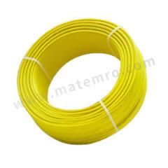 起帆 铜芯聚氯乙烯绝缘软电缆 BVR-450/750V-1×25 线芯数:1 颜色:黄色  卷