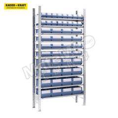 皇加力 带储物盒的无螺栓镀锌货架 968024 层载:150kg 颜色:蓝色  个