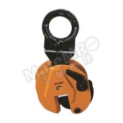 虎力 竖吊钢板夹钳 CL20 夹口开口距:0~25mm  个