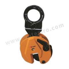 虎力 竖吊钢板夹钳 CL05 夹口开口距:0~15mm  个