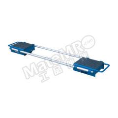 泰得力 可调式重型滑动轮 CM60 滑轮材质:PA 承载面尺寸:250×170mm  个