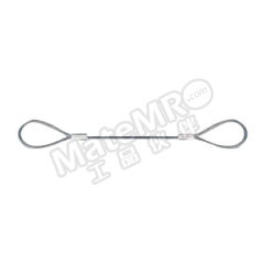 多来劲 插编钢丝绳索具(麻芯) 0253 1801-03  根