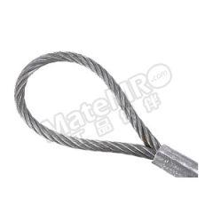 多来劲 压制钢丝绳索具(麻芯) 0213 1401-03  根
