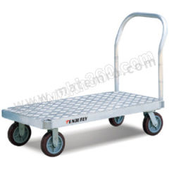 泰得力 重载型铝制大台面平板推车 AF3060 扶手类型:可拆卸 材质:铝制 台面尺寸(长×宽):1525×760mm  辆