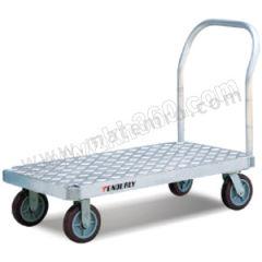 泰得力 重载型铝制大台面平板推车 BF3048 扶手类型:可拆卸 材质:铝制 台面尺寸(长×宽):1220×760mm  辆