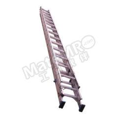 兴安 三联式铝合金伸缩直梯 LGET-80 额定载荷:150kg 延伸长度:8000mm 缩回长度:3700mm  架