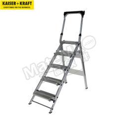 皇加力 铝制折叠式踏板梯 985380  个