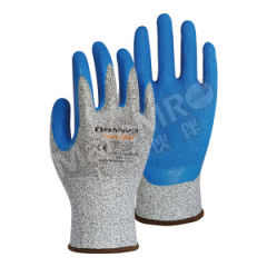 恒辉 13针乳胶皱纹涂掌防割手套 LN330 防割等级:3级  副