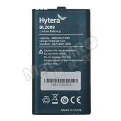 海能达 对讲机锂电池 BL2009  个