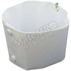 安赛瑞 卡扣式袖标(白色) 20370 材质:PVC  包