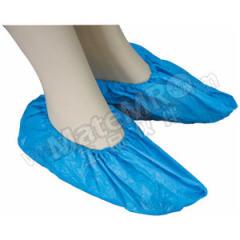 凌致 一次性CPE鞋套 LZ06009 颜色:蓝色  箱