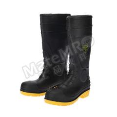 莱尔 PVC黑帮黄底防化靴 SL-2-91  双