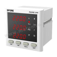 斯菲尔 多功能仪表LED显示 PD194E-3H4  台