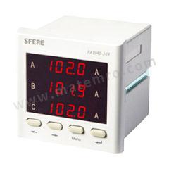 斯菲尔 带RS485通讯三相交流电流表 PA194I-3K4  台