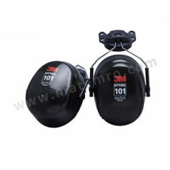 3M OPTIME101系列插帽式耳罩 H7P3E 佩戴方式:插帽式  副