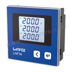 领菲 交流数显带通讯三相电流数显仪表 LNF36-C  台