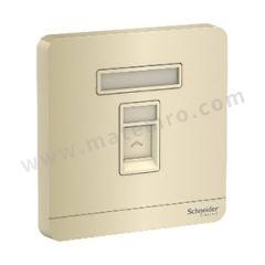 施耐德电气 AvatarOn绎尚系列单联带保护门电话插座 E8331RJS4_WG_C1 颜色:白色  个