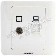 西门子 西门子远景雅白面板插座 5TG0 116-1CC1 额定电流:10A 颜色:雅白色  个