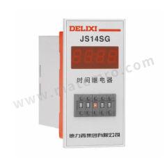 德力西 JS14系列数显时间继电器 JS14S 0.01S-9999H AC/DC12V 额定电流:3A 功能:接通或切断较高电压、较大电流的电路  个