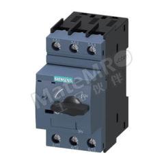 西门子 3RV6系列电动机保护断路器 3RV63214DC10 接线方式:螺钉型端子 控制类型:旋钮式 分断能力:55kA 额定电流范围:25A  个