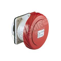 施耐德电气 工业插座 81682 防护等级:IP67 额定电流:63A 颜色:红色 额定电压:AC380V  个