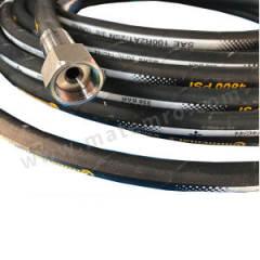 康迪泰克 H4-201系列2SN软管总成 H4-201-2221-04-04-2m 公称直径:DN6 长度:2m 材质:碳钢 连接类型:BSP内丝(平头) 最大工作压力:400bar  根