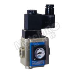 亚德客 GV系列慢启阀 GV40015JF1F 附件类型:无 是否有压力表:是  个