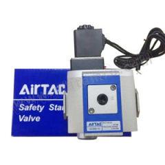 亚德客 GV系列慢启阀 GV30010C1BI 是否有压力表:是 附件类型:附支架  个