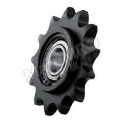 正盟 DLCW系列C型双轴承惰轮 DLCW50-13-15 材质:标准钢 齿数:13 直径:15mm 外径:74mm  个