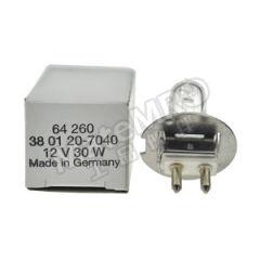 欧司朗 卤素灯泡卤钨米泡 64260 12V 30W 功率:30W  只