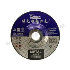 ROBTEC 诺克T27黑色双网金属角磨片 100×6.4×16 厚度:6.4mm 孔径:16mm 包装数量:200片/箱  片
