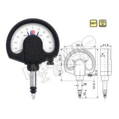 广陆 杠杆齿轮比较仪 320-105A 分度值:0.001mm  只