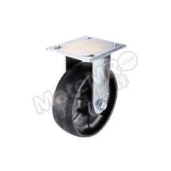 科顺 4系列5寸平顶定向耐高温轮 4-5108-839HT 底板(插杆)规格:114×102mm 脚轮材质:耐高温材料 安装高度:165mm  个