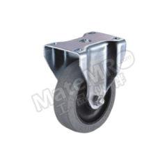 科顺 2系列4寸平顶定向平边导电轮 2-4608-445C 底板(插杆)规格:92×64mm 脚轮材质:导电材料 安装高度:130mm  个
