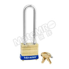 玛斯特锁 黄铜千层锁 8LJ  把