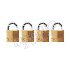 玛斯特锁 4弹子黄铜挂锁 130MCNDLJ  把