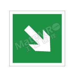 安赛瑞 消防警示标签(↘) 20245 材质:不干胶  包