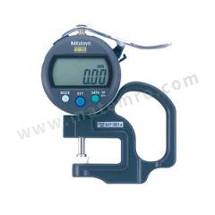 三丰 公制数显厚度表 547-301 测力:<1.5N 是否可数据输出:是 测量范围:0~10mm 分辨率:0.01mm  只