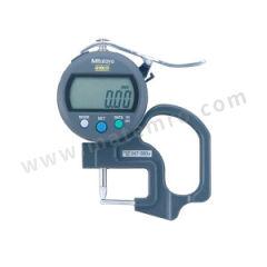 三丰 公制数显厚度表(测管壁厚度) 547-360 测力:<1.5N 是否可数据输出:是 测量范围:0~10mm 分辨率:0.01mm  只