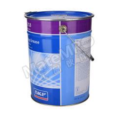 斯凯孚 润滑剂 LGMT 3/18 锥入度:220~250(0.1mm) 稠度级别:3 颜色:琥珀色 工作温度:-30~+120℃  桶