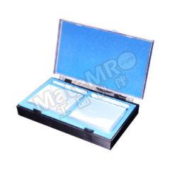 垒固 玻璃比色皿(胶粘) B-002007-10 内径尺寸:100×10mm 外形尺寸(长×宽×高):102.5×12.5×45mm  盒