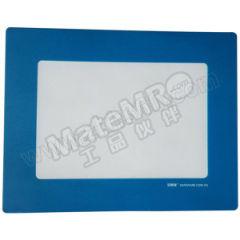 安赛瑞 耐磨型库位标记地贴(蓝色A4) 11765 材质:耐磨PC  张