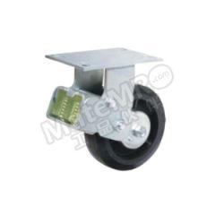 科顺 6系列6寸平顶定向高弹性橡胶欧式减震轮 SC-6508-648 安装高度:203mm 脚轮材质:高弹性橡胶  个
