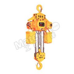 沪工 固定式环链电动葫芦 HSY25-10S(9M)-G 起升高度:9m  台
