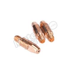 宾采尔 导电嘴 140.0382 螺纹规格:M6 材质:铬锆铜 包装数量:10支/包  包